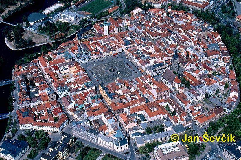 Ceske Budejovice Czech Republic  city photos : Titulní strana / Krajiny / Letecké / České Budějovice