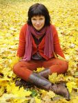 Photo of listopad November podzim autumn dívka girl