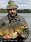 Photo of rybář Fisherman Fischer kapr carp Třeboňsko